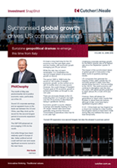 Synchronised global growth drives US company earnings