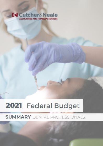 2021 Budget Summary Dental