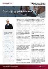 Cutcher & Neale Business Digest - Diversifying your business